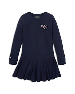 Polo Ralph Lauren Girls French Terry Sweater Dress  Little Kid
