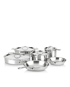 All-Clad - d3 Compact 10-Piece Set
