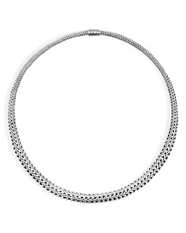 """JOHN HARDY - Sterling Silver Classic Chain Graduated Chain Necklace, 18"""""""