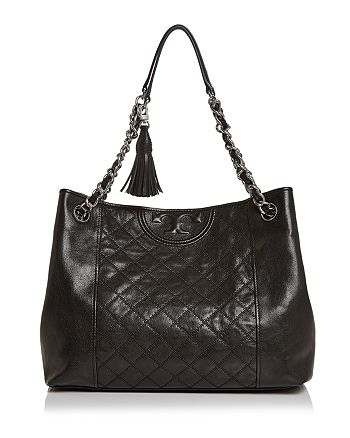 Tory Burch - Fleming Medium Distressed Leather Tote