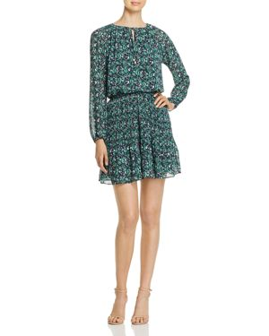 MICHAEL MICHAEL KORS PAISLEY-PRINT MINI DRESS