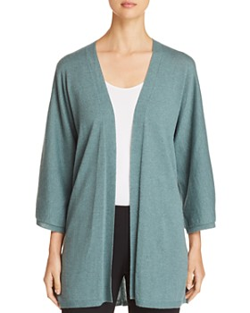 Eileen Fisher Petites - Open Cashmere Cardigan