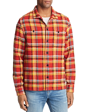 Frame Flannel Shirt Jacket
