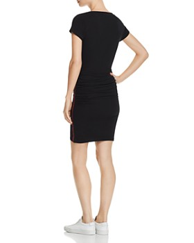 Sundry - Piped Ruched Dress