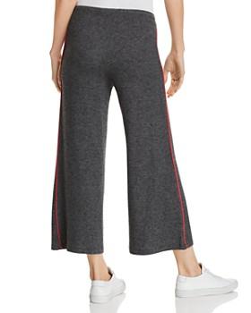 Sundry -  Piped Wide-Leg Sweatpants