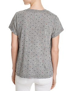 Current/Elliott - The Perfect V Heart Print Tee