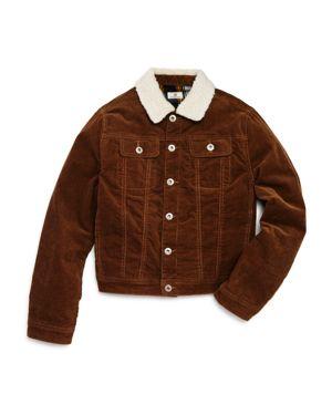 ag Adriano Goldschmied Kids Boys' Corduroy & Sherpa Beau Jacket - Little Kid