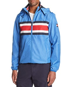 Tommy Hilfiger - Striped Hooded Jacket