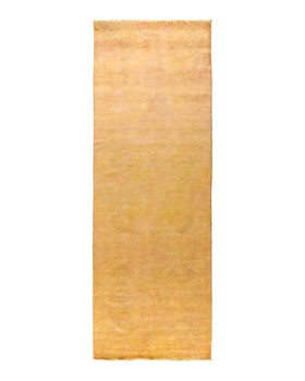 """Solo Rugs - Vibrance 43 Hand Knotted Area Rug, 4' 2"""" x 12' 1"""""""