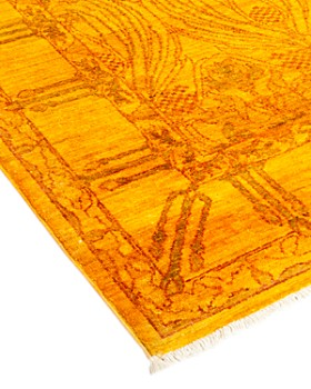 """Solo Rugs - Vibrance 28 Hand Knotted Area Rug, 6' 5"""" x 9' 0"""""""