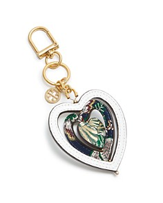 Tory Burch Heart Spinner Leather Key Fob - Bloomingdale's_0