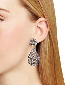 Oscar de la Renta - Teardrop Clip-On Earrings