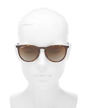 Ray-Ban -  Unisex Erika Polarized Classic Round Sunglasses, 54mm