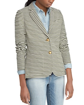 Ralph Lauren - Pique Striped Blazer
