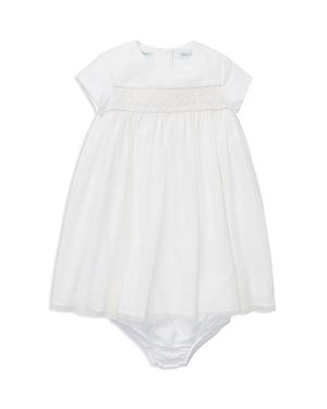 Ralph Lauren Girls HandSmocked Tulle Dress  Bloomers Set  Baby
