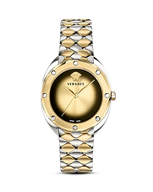 Versace Collection Shadov Two-Tone Bracelet Watch, 38mm