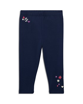 Ralph Lauren - Girls' Floral-Embroidered Leggings - Baby
