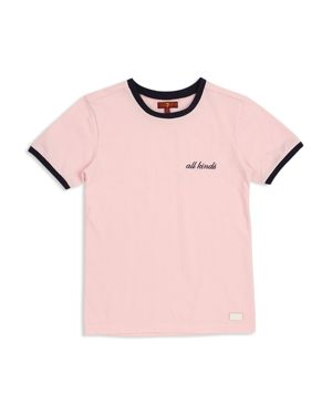 7 For All Mankind Girls' All Kinds Ringer Tee - Big Kid
