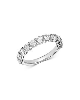 Bloomingdale's - Diamond Shared Prong Band Ring in 14K White Gold, 1.50 ct. t.w. - 100% Exclusive