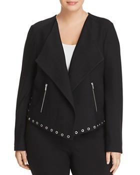 Lyssé Plus - Blair Grommet-Trim Jacket