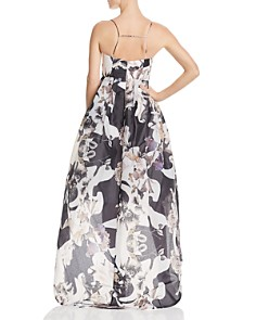 Bariano - Printed Organza Gown - 100% Exclusive