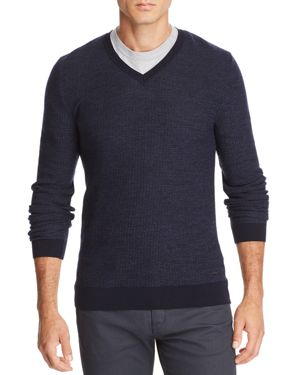 BOSS EMAURO V-NECK SWEATER