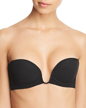 439a67f425 La Perla - Second Skin Convertible Strapless Push-Up U-Wire Bra ...