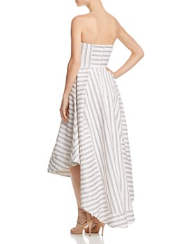 C/MEO Collective - Moments Apart Strapless Gown