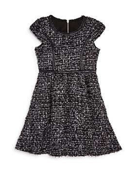 US Angels - Girls' Tweed Dress - Little Kid