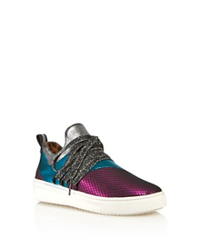 STEVE MADDEN - Girls' JLancer Lace Up Sneakers - Little Kid, Big Kid