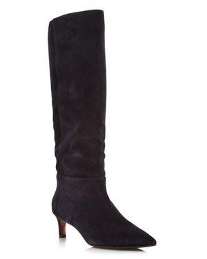 Aquatalia Women's Macey Pointed-Toe Weatherproof Suede Boots - 100% Exclusive