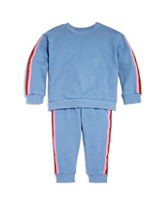 COMUNE - Girls' Striped Sweatshirt & Sweatpants - Big Kid