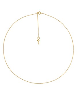 Michael Kors - Custom Kors Sterling Silver Starter Necklace in 14K Gold-Plated Sterling Silver, 14K Rose Gold-Plated Sterling Silver or Solid Sterling Silver, 16""