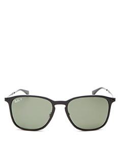 Ray-Ban - Men's Polarized Square Sunglasses, 56mm
