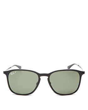 Ray-Ban - Men's Polarized Square Sunglasses, 56mm