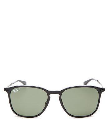 Ray-Ban - Unisex Polarized Square Sunglasses, 56mm
