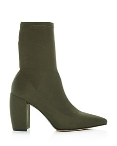 Kenneth Cole - Women's Alora Pointed Toe Block-Heel Booties