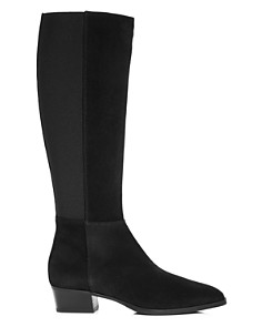 Aquatalia - Women's Finola Weatherproof Block-Heel Riding Boots