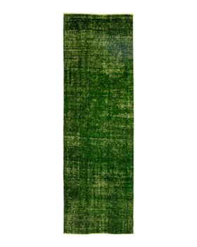 """Solo Rugs - Vintage 15 Hand-Knotted Runner Rug, 3' 8"""" x 11' 1"""""""