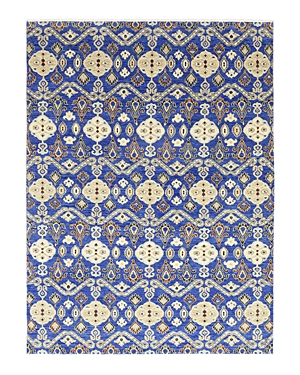 Solo Rugs Ikat 12 Hand-Knotted Area Rug, 9' 1 x 12' 1