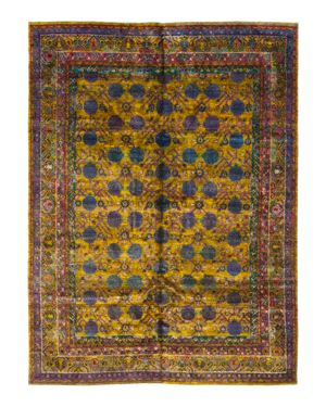 Solo Rugs Sari Silk 8 Hand-Knotted Area Rug, 8' x 10' 10