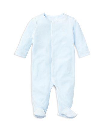 c45309fdb6e8 Ralph Lauren Boys  Velour Footie - Baby
