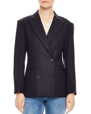 SMART DOUBLE-BREASTED BLAZER