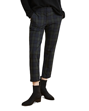 Velvet by Graham & Spencer Cropped Plaid Pants - 100% Exclusive