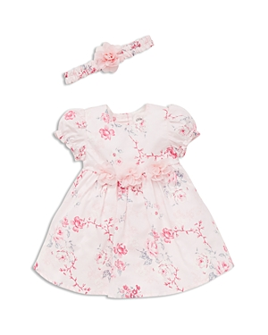 Little Me Girls' Floral Dress, …