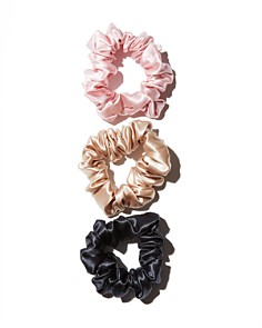 slip - Silk Large Scrunchies, Set of 3
