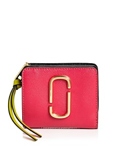 MARC JACOBS - Snapshot Mini Leather Wallet