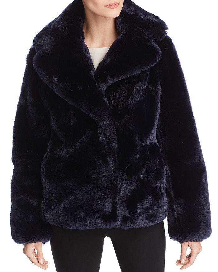 VINCE CAMUTO - Faux Fur Coat