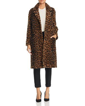 Maximilian Furs - Leopard-Print Lamb Shearling Coat - 100% Exclusive