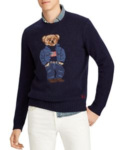 d156d163747 Polo Ralph Lauren Yale University Bear Sweater